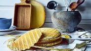 Фото рецепта Вафельные коржи