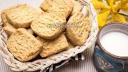 Фото рецепта Песочное печенье с кокосовой стружкой