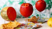 Фото рецепта Тыквенно-малиновый смузи