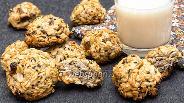 Фото рецепта Овсяное печенье с имбирём