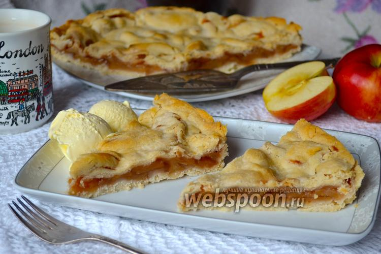 Фото Американский яблочный пирог