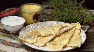 Фото рецепта Кутабы с сыром