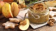 Фото рецепта Постное орехово-тыквенное масло