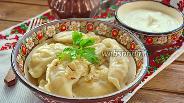Фото рецепта Украинские вареники с капустой и яйцом