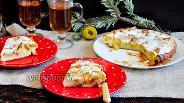 Фото рецепта Голландский яблочный «Dutch baby»