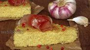 Фото рецепта Пшённые гренки с чесноком и прованскими травами