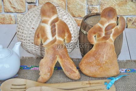 Фото рецепта Хлебные человечки