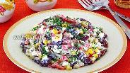 Фото рецепта Салат «Яркие краски»