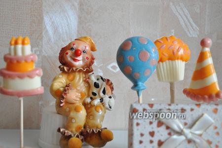 Фото рецепта Шоколадные конфеты к детскому празднику