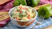Фото рецепта Японский картофельный салат
