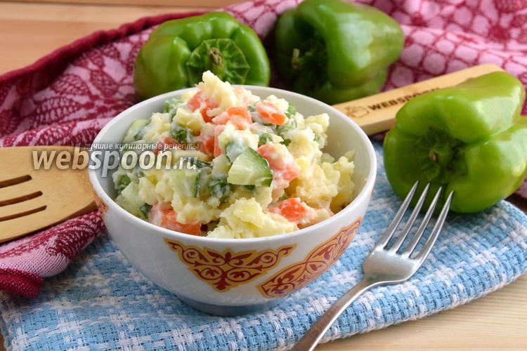 Фото Японский картофельный салат