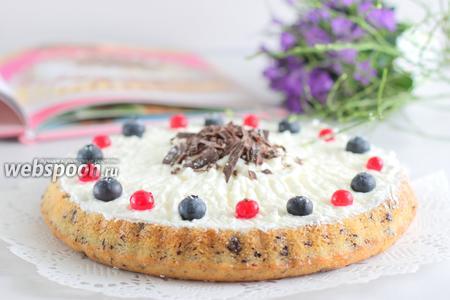 Творожный кухен с ягодами