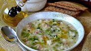 Фото рецепта Ризи и Бизи — Рис с горохом