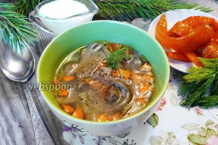 Суп из груздей