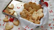 Фото рецепта Печенье «Песочные сердечки»