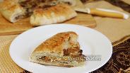 Фото рецепта Пирог с лисичками