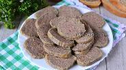 Фото рецепта Домашняя ливерная колбаса