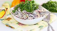 Фото рецепта Салат с красной фасолью и говядиной