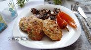 Фото рецепта Рубленные куриные котлеты со сладким перцем