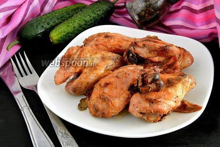 Курица, запечённая в греческом йогурте