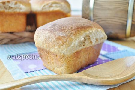 Бездрожжевой хлеб на обойной муке