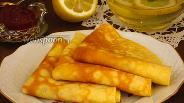 Фото рецепта Лимонные блинчики