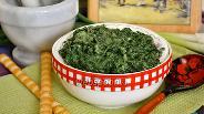 Фото рецепта Сливочный шпинат