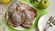 Фото рецепта Творожные лепёшки с яблоками и морковью