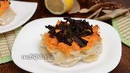 Фото рецепта Медальоны из картофеля, моркови и грибов