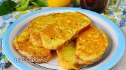 Фото рецепта Сырные гренки на завтрак