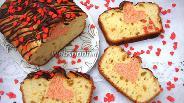 Фото рецепта Кекс «Валентин»