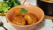 Фото рецепта Биточки в томатном соусе с тимьяном