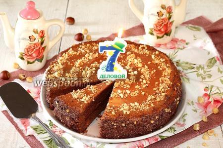 Торт Шоколадно-трюфельный