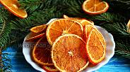 Фото рецепта Апельсиновые чипсы с имбирём