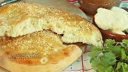 Фото рецепта Хлебная лепёшка на минералке