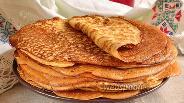 Фото рецепта Пшённые блины «Боярские»
