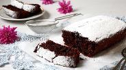 Фото рецепта Постный шоколадный кекс