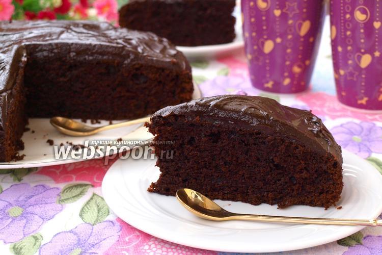 Фото Шоколадно-свекольный пирог