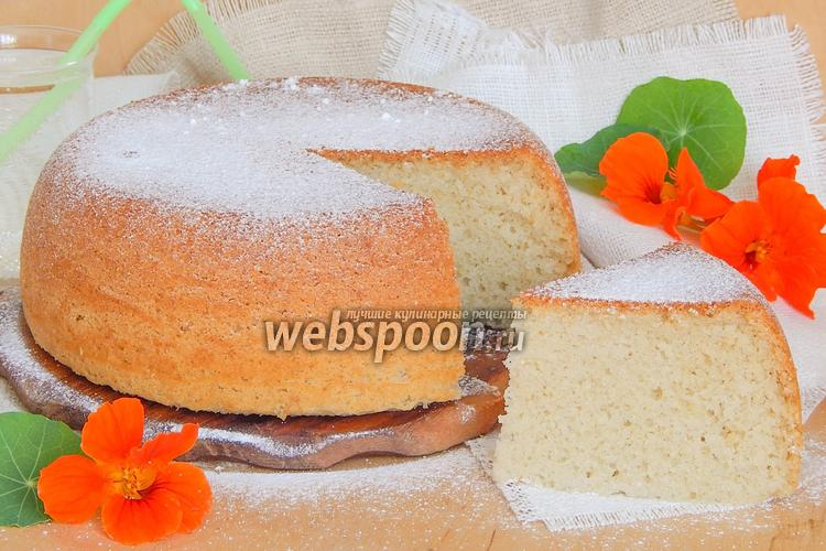 Рецепт Бисквит на лимонаде в мультиварке