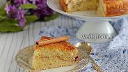 Фото рецепта Коричный пирог с корочкой