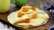 Фото рецепта Блины апельсиновые