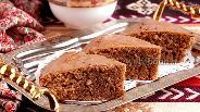 Фото рецепта Персидский кофейно-ореховый пирог