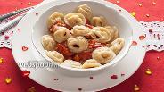 Фото рецепта Тортеллини «Пупок любимой»