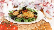 Фото рецепта Куриное филе с вялеными томатами и маслинами
