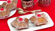 Фото рецепта Пирожные с кокосом и цукатами