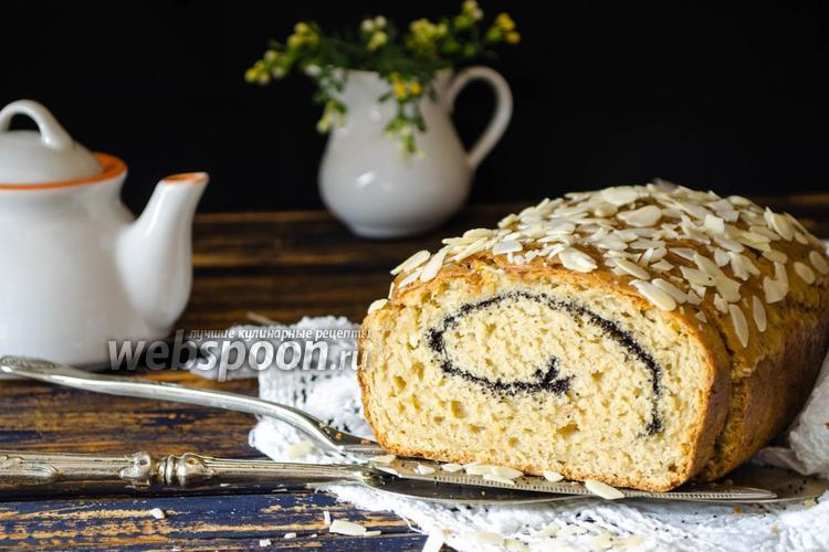 Фото Творожно-яблочный кекс с маком