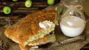Фото рецепта Яблочная лепёшка с сыром