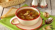 Фото рецепта Суп гречневый с клёцками