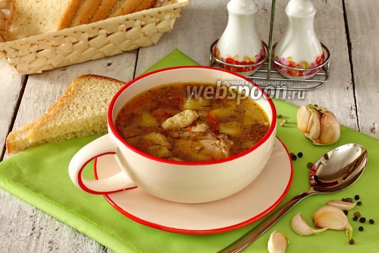 Фото Суп гречневый с клёцками