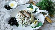 Фото рецепта Салат со шпротами «Старая Рига»